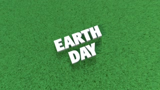 PCM Earth Day Text on Green Grass.mov