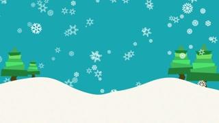 PCM: Falling Snow (Modern Flat Design)