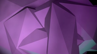 PCM Purple Low-Polygon Motion Background