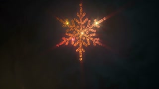 Modern Winter Snowflake