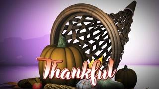 Thanksgiving Cornucopia with Title