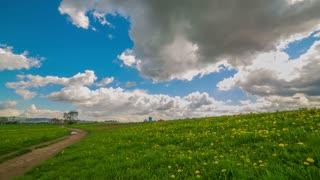 4K Landscape Cloud Timelapse