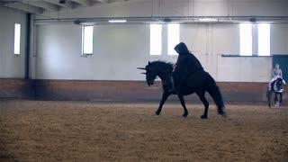 Lord Sauron Masquerade Riding On Horse