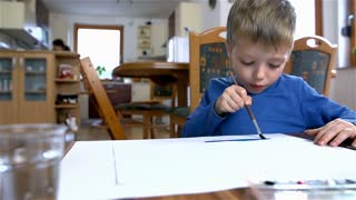 Young Kid Painting 36