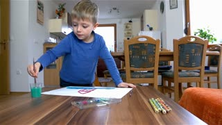 Young Kid Painting 44