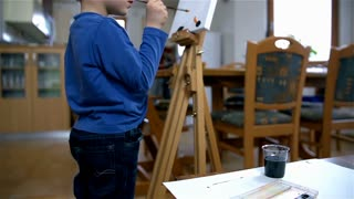 Young Kid Painting 56