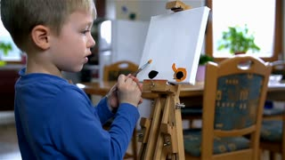 Young Kid Painting 57