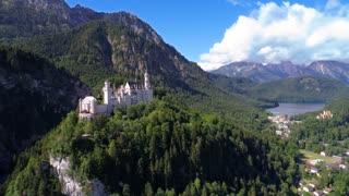 Neuschwanstein Castle Bavarian Alps Germany