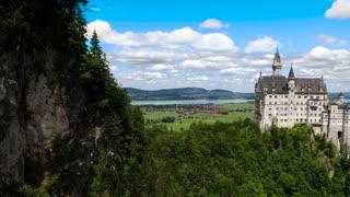Neuschwanstein Castle Bavarian Alps Germany.