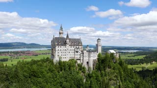 Neuschwanstein Castle Bavarian Alps Germany.