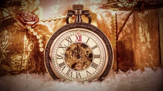 Vintage Christmas clock