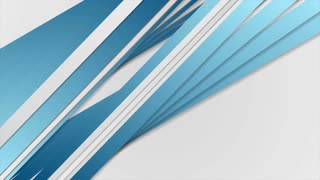 Abstract blue and grey stripes motion background. Video animation Ultra HD 4K 3840x2160