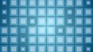 Abstract blue shiny squares design. Video animation 1920x1080