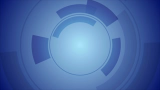 Abstract blue technology graphic motion design. Video animation Ultra HD 4K 3840x2160