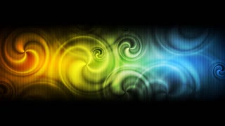 Abstract colorful swirl background. Video animation HD 1920x1080
