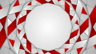 Abstract corporate tech rotation motion design. Seamless loopable. Video animation Ultra HD 4K 3840x2160