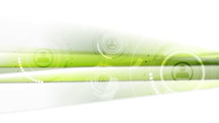 Abstract green tech futuristic motion graphic design. Video animation HD 1920x1080