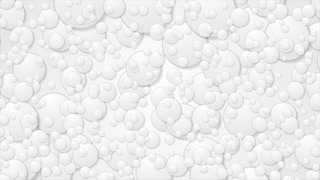Abstract grey paper circles motion design. Video animation Ultra HD 4K 3840x2160