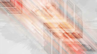 Abstract grunge tech orange motion design with arrows. Video animation Ultra HD 4K 3840x2160