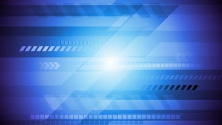 Abstract technology motion background. Video corporate animation HD 1920x1080
