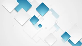 Bright abstract tech geometric graphic motion design. Video animation HD 1920x1080