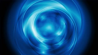 Bright blue abstract rotation motion design. Video animation Ultra HD 4K 3840x2160