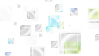 Bright glossy abstract squares motion background. Seamless loop graphic design. Video animation Ultra HD 4K 3840x2160