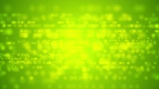 Bright green defocused lights motion graphic design. Video animation Ultra HD 4K 3840x2160