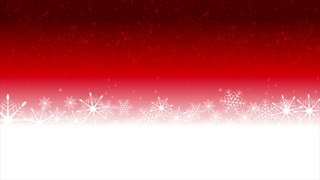 Bright red Christmas motion graphic design. Video animation clip Ultra HD 4K 3840x2160