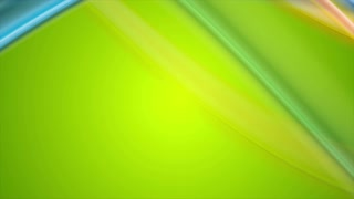 Colorful abstract shiny flowing waves motion background. Video animation Ultra HD 4K 3840x2160