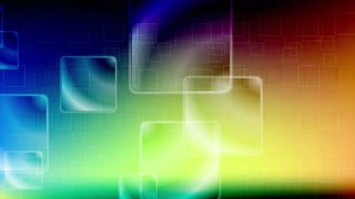 Colorful glossy squares motion design. Video animation Ultra HD 4K 3840x2160