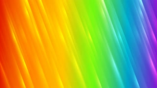 Colorful rainbow abstract striped motion graphic design. Seamless looping. Video animation HD 1920x1080