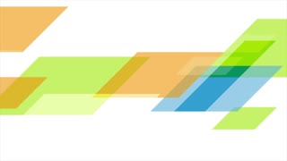 Colorful tech abstract business corporate motion design. Seamless looping. Video animation Ultra HD 4K 3840x2160