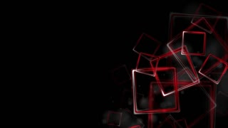 Dark red glossy squares abstract motion design. Video animation Ultra HD 4K 3840x2160