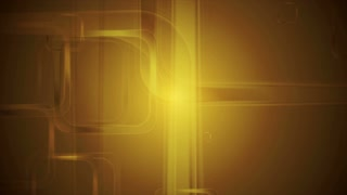 Golden glossy squares abstract geometric motion design. Video animation Ultra HD 4K 3840x2160