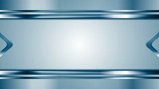 Metallic arrows moving towards each other. Blue technology metal motion graphic design. Video animation HD 1920x1080