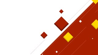 Minimal tech geometric motion graphic design with squares. Seamless loop. Video animation HD 1920x1080