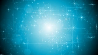 Shiny light blue sparkling design. Video animation HD 1920x1080