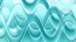 Turquoise smooth abstract waves background. Video animation HD 1920x1080