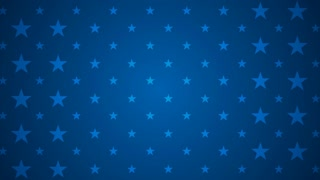 USA flag colors motion graphic design. Video animation HD 1920x1080