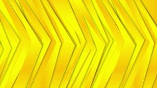Abstract corporate bright yellow motion design. Seamless loop. Video animation Ultra HD 4K 3840x2160