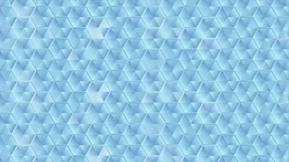 Abstract glass blue hexagons texture motion design. Video animation Ultra HD 4K 3840x2160