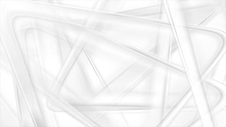 Abstract grey and white triangles tech motion design. Seamless looping. Video animation Ultra HD 4K 3840x2160