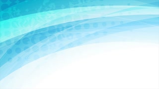 Blue abstract corporate grunge waves motion background. Video animation Ultra HD 4K 3840x2160