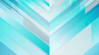Blue abstract corporate technology motion design. Geometrical video animation Ultra HD 4K 3840x2160