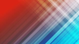 Blue and red diagonal stripes abstract motion background design. Seamless loop. Video animation Ultra HD 4K 3840x2160
