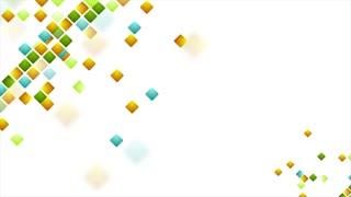Colorful abstract squares geometric motion background. Seamless loop. Video animation Ultra HD 4K 3840x2160
