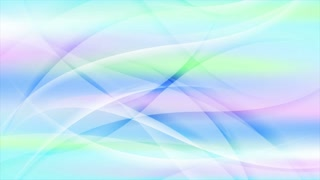 Colorful abstract waves elegant modern motion design. Seamless loop. Video animation Ultra HD 4K 3840x2160