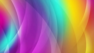 Colorful shiny waves abstract motion background. Seamless looping. Video animation Ultra HD 4K 3840x2160