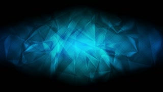 Dark blue glossy polygonal motion background. Seamless loop. Video animation Ultra HD 4K 3840x2160